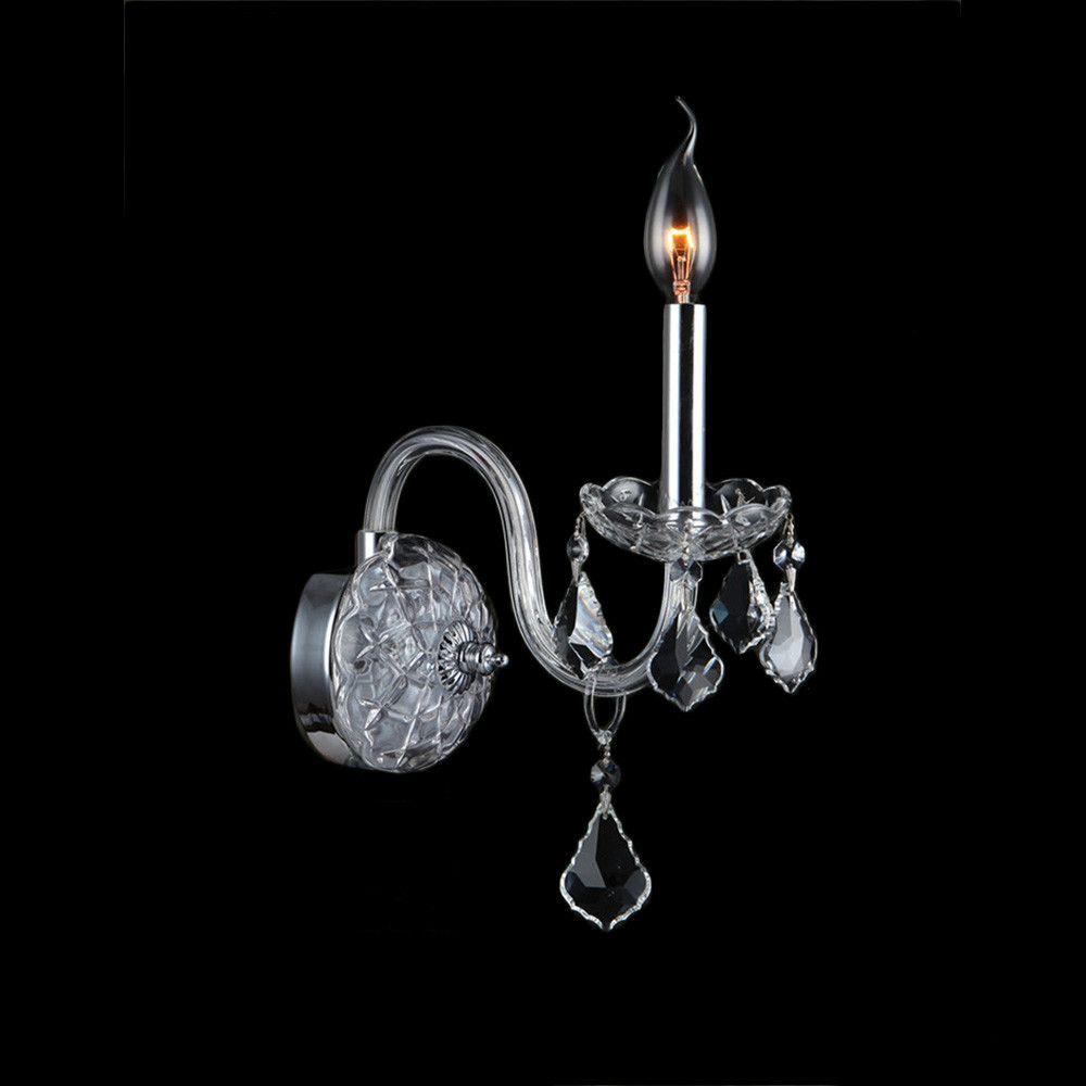 Worldwide Lighting Provence 1 Light Wall Sconce & Reviews ... on Wayfair Bathroom Sconces id=32250
