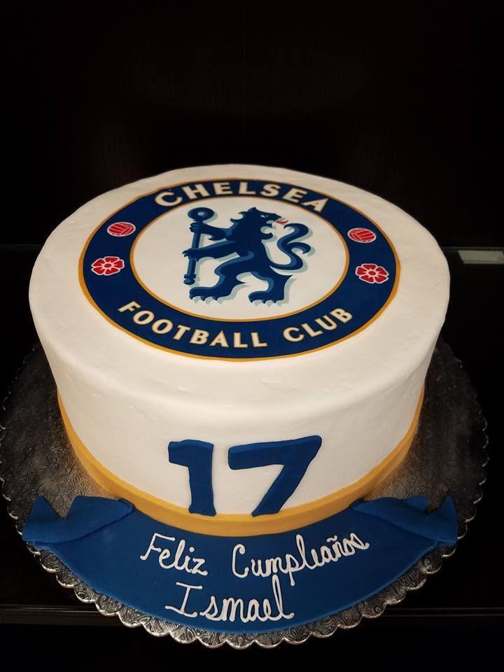 Chelsea Football Club Cake Cake Football Birthday Hubby Birthday