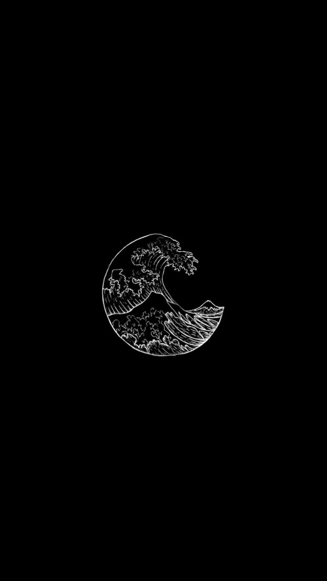 pinterest // maroon.wolves Black wallpaper, Aesthetic