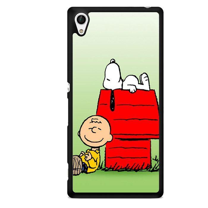 snoopy y charlie brown 2 iphone case