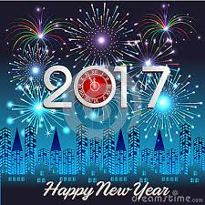 Get Unique Happy New Year Fireworks 2017 Wallpapers