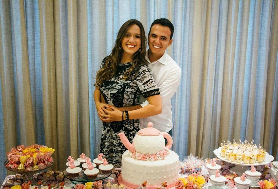 Casarei em Brasília: Chá bar DIY #2 - Thayná e Leandro