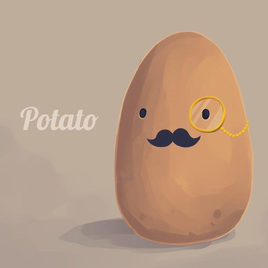 gentlemanly potato potato funny kawaii potato potato girl potato funny kawaii potato potato girl