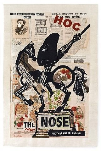 Nose (with strawberries) by William Kentridge from Volte Gallery