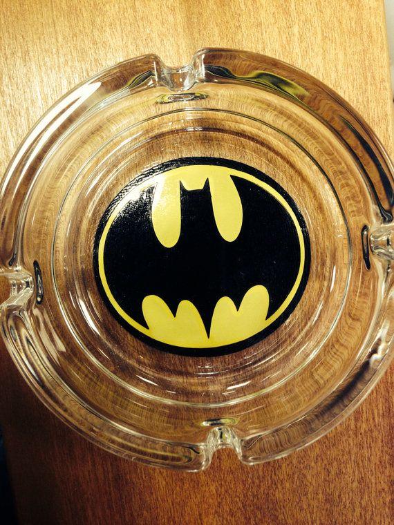 Batman Ash Tray by VSLSigns on Etsy, $6.50