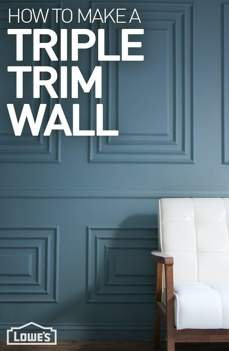 Paso a paso para decorar nuestras paredes con este triple encuadre ...