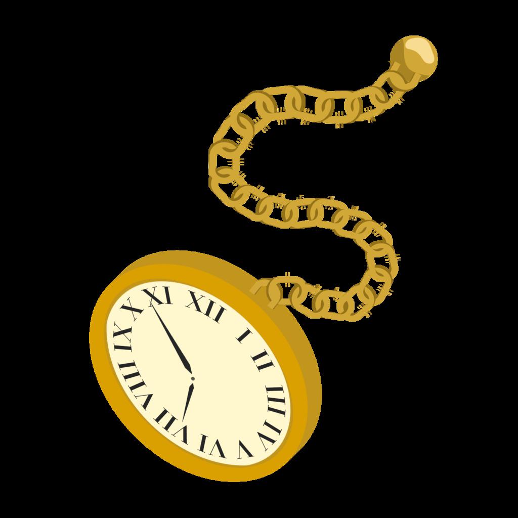 Pocket Watch Vector By Whiplash Katachi D6u4n8y Png 1024 1024 Clock Clipart Pocket Watch Clip Art