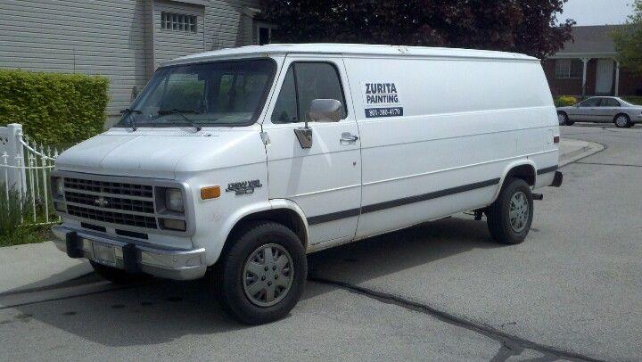 My Chevy G30 Van 1996