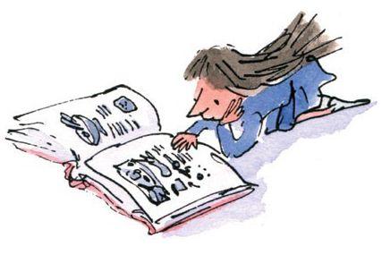 Image result for matilda book illustrations