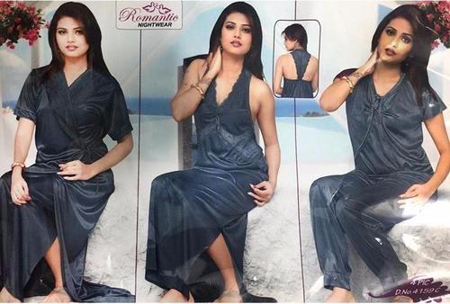... diKHAWA - Online Shopping Pakistan. Hot Bridal Nighty Set   Honeymoon  Nighty Sets - 4159C - 4 Pieces Nighty Sets - 01dd3fc00