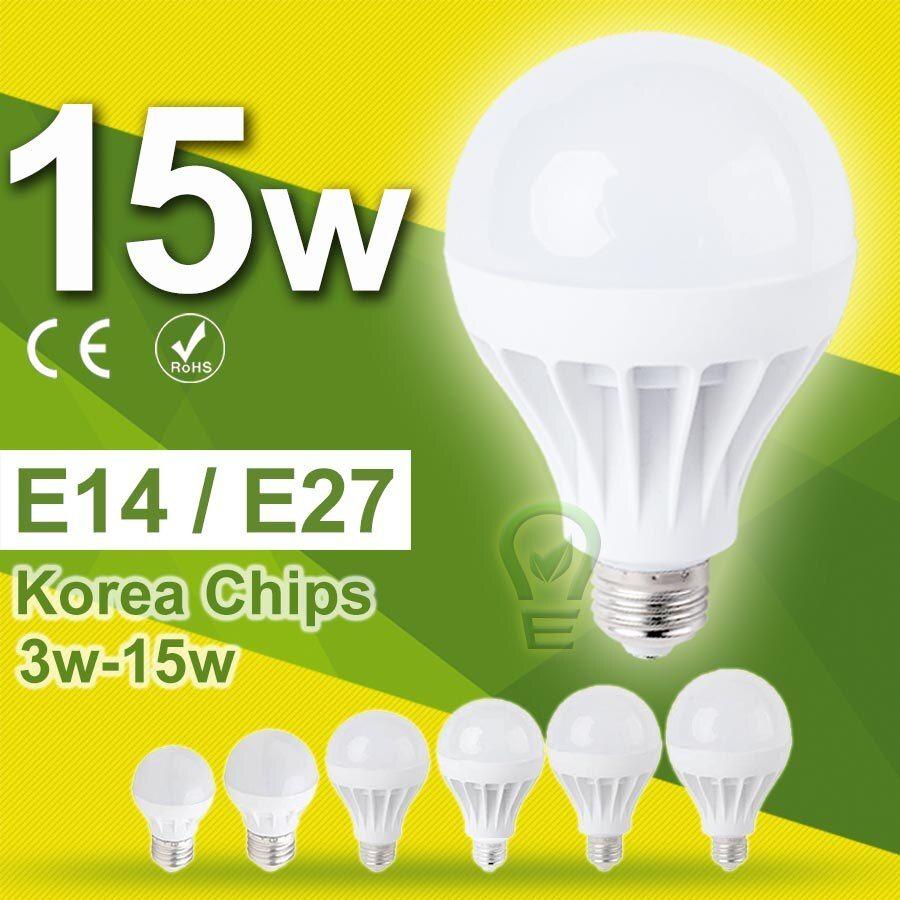 Check Price 3w 18w Lampada Led E27 Led Lamp E14 Led Bulb E27 15w 12w 9w 7w 5w Light Bulb Ampoule Bombillas Led 220v 240v 10w Light Bulb Led Bulb Led