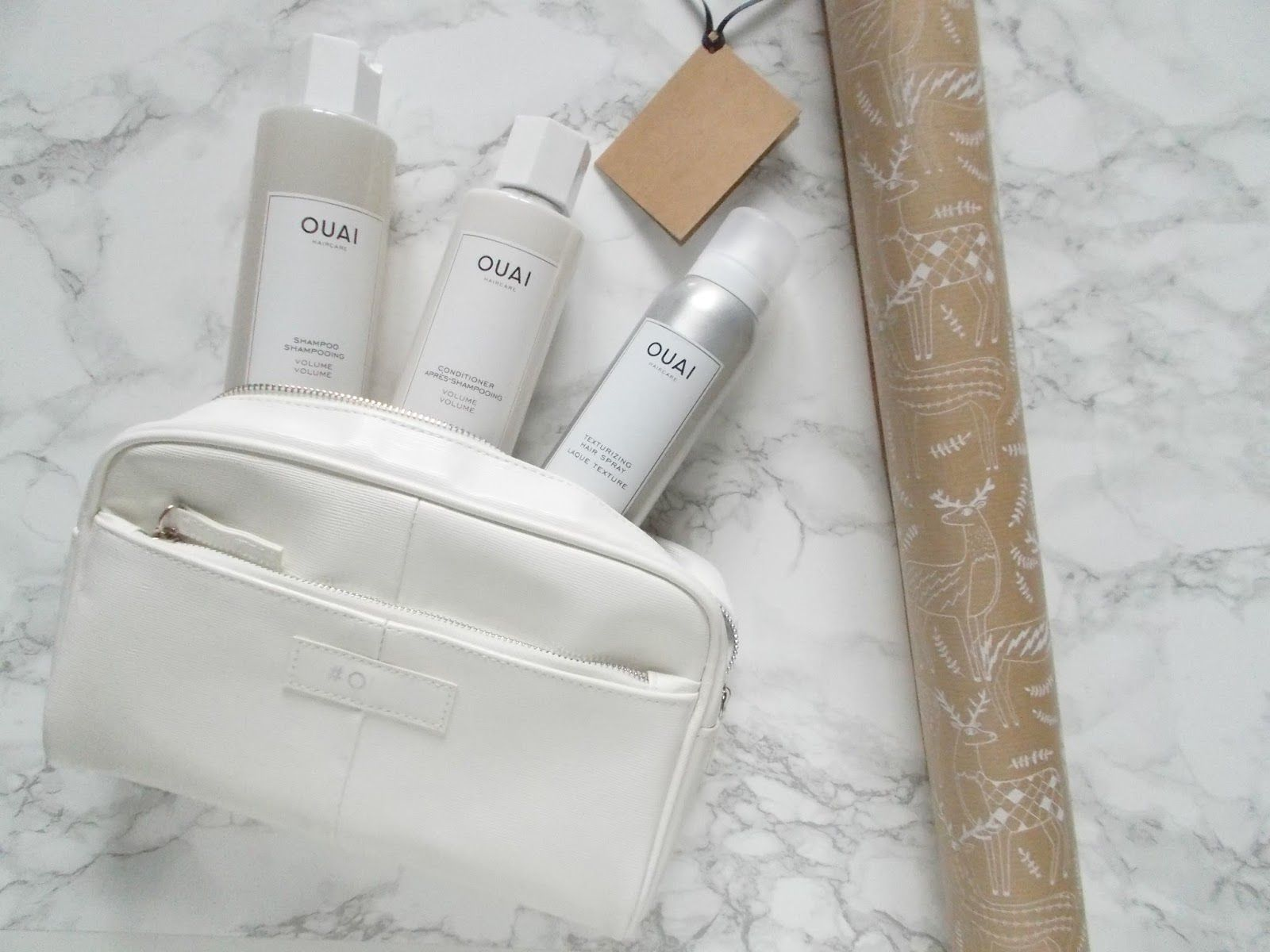 the ouai holiday volume kit