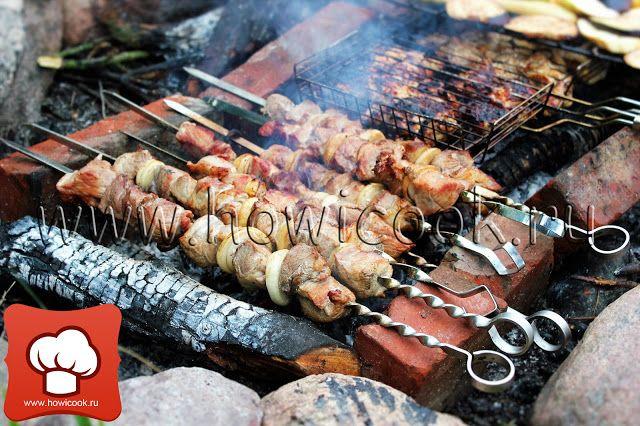 HowICook: Шашлык в луковом маринаде (кавказская кухня)