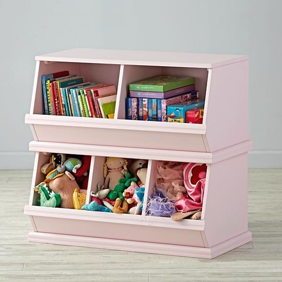 Storagepalooza Light Pink The Land Of Nod Decorating Toddler