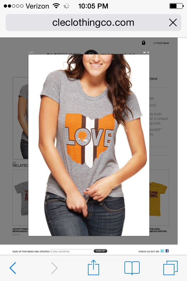 683575605ada07 CLEClothingCo Clothing Co, Cleveland Browns, Love, Fashion Design, Ohio,  Men,
