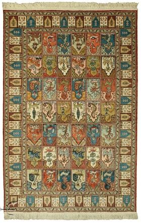 Turkish Rug - Kayseri Silk Carpet Width 114.00 cm (3,74 Feet) Lenght 169.00 cm…