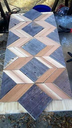 Pallet Table MURALES Pinterest Mesas, Madera y Palets