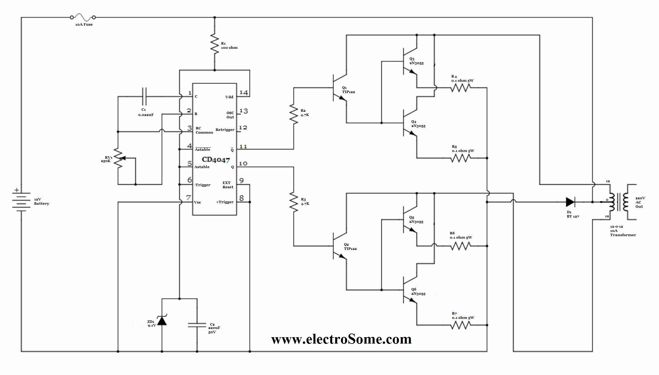 New Inverter Wiring Diagram Pdf