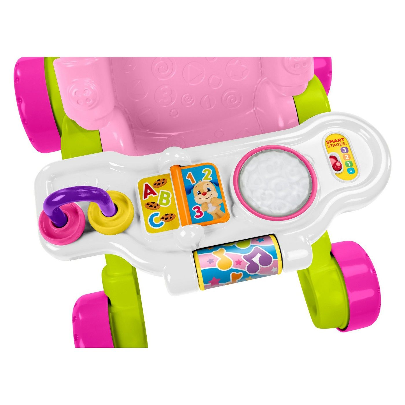 FisherPrice Stroll and Learn Walker Pink Affiliate
