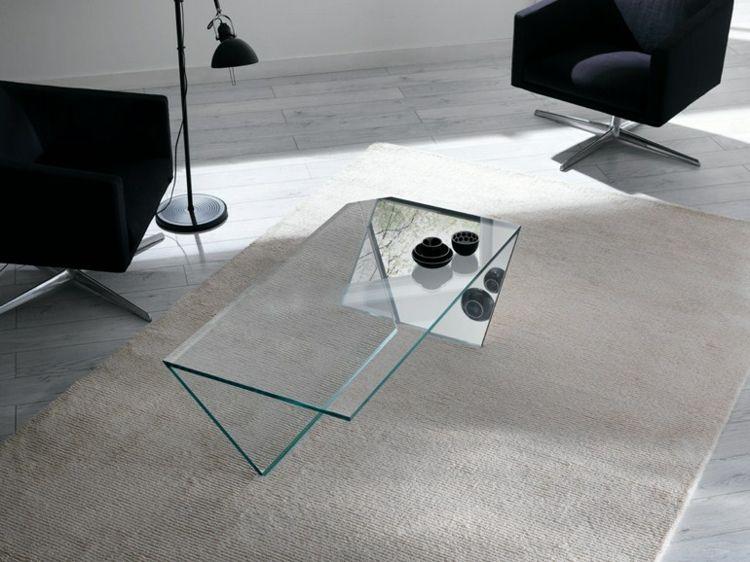Couchtisch aus Glas – wenn der Beistelltisch zum Akzent wird   Möbel ...