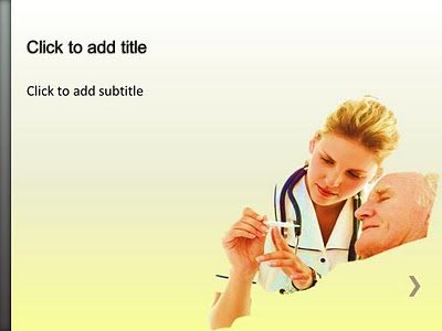 Geriatrics Medical PowerPoint Template Geriatrics PowerPoint - nursing powerpoint template