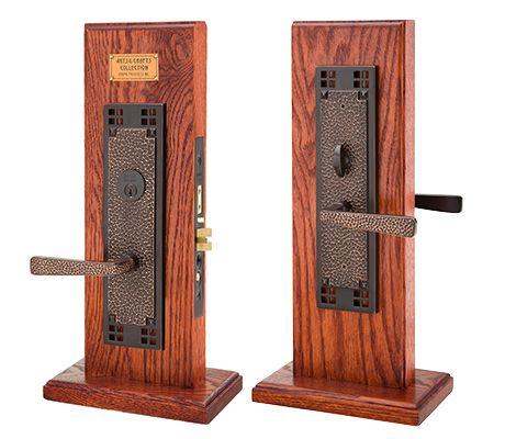 Craftman mortise arts crafts mortise knob by knob - Home hardware exterior door handles ...