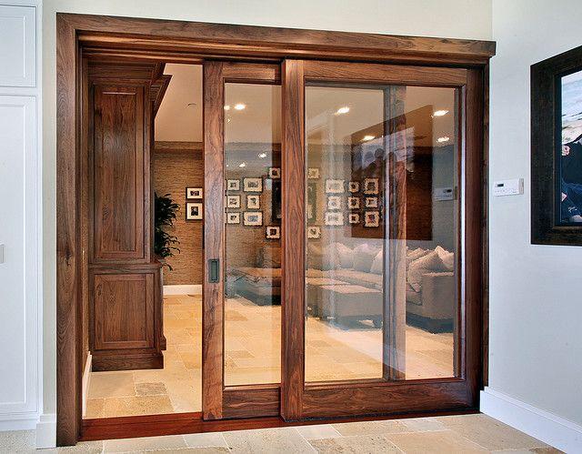 Wood Doorjambs Doors With White Trim