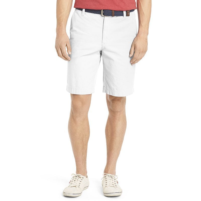 Men's IZOD Saltwater Classic-Fit Solid Flat-Front Shorts, Size: