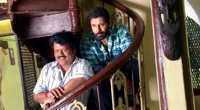 Vikram's next film Sketch, directed by Vijay Chander, has an