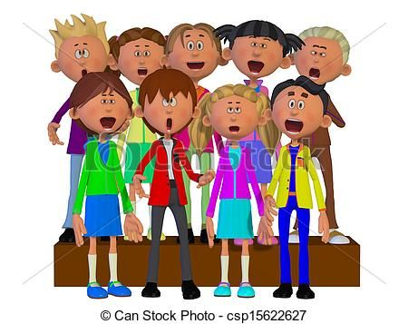 Chorus Clipart and Stock Illustrations. 416 Chorus vector ...