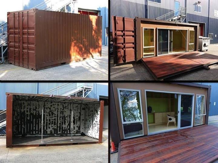 Secret container home! so cool!  #London #Uk #Unitedkingdom #House #interiordesign #interiordecor #interior #interiordecoration #interiordecorating