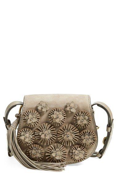Tory Burch Embellished Saddle Bag available at #Nordstrom
