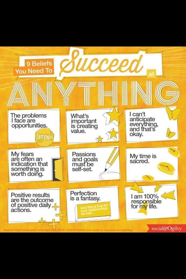 Cómo tener éxito en casi cualquier aventura que emprendas