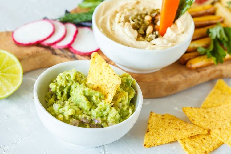 In a battle between hummus and guac, which healthy snack dip wins? — Well+Good