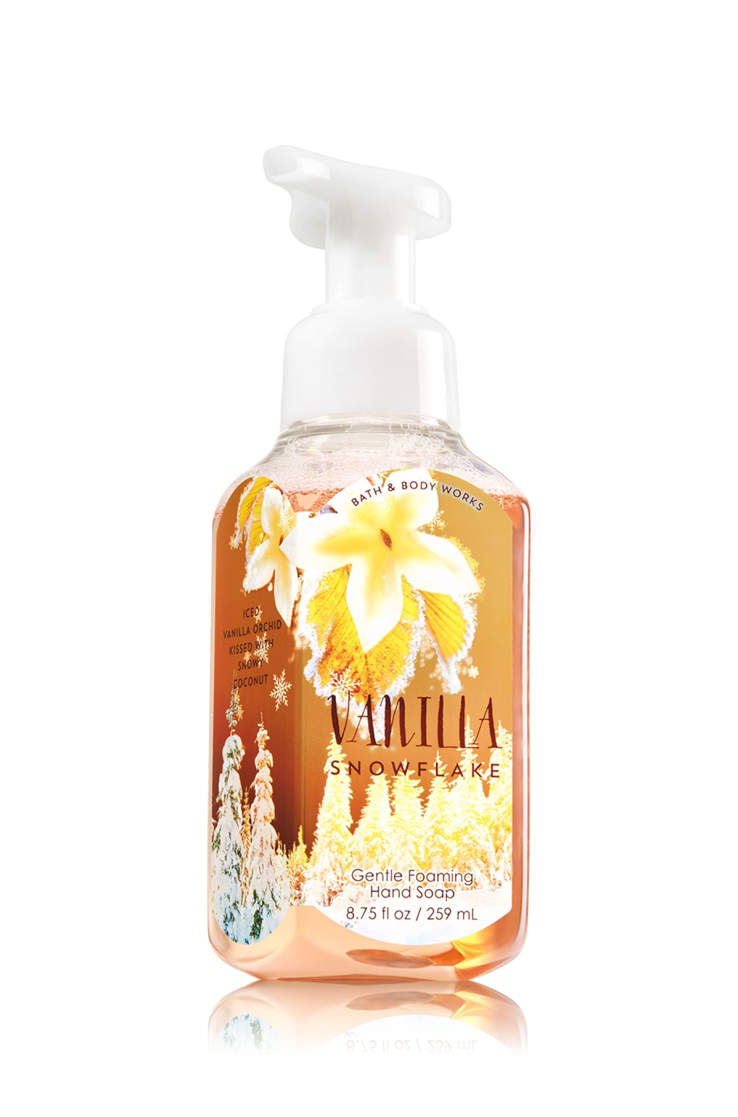 Vanilla Snowflake Gentle Foaming Hand Soap Soap Sanitizer Bath