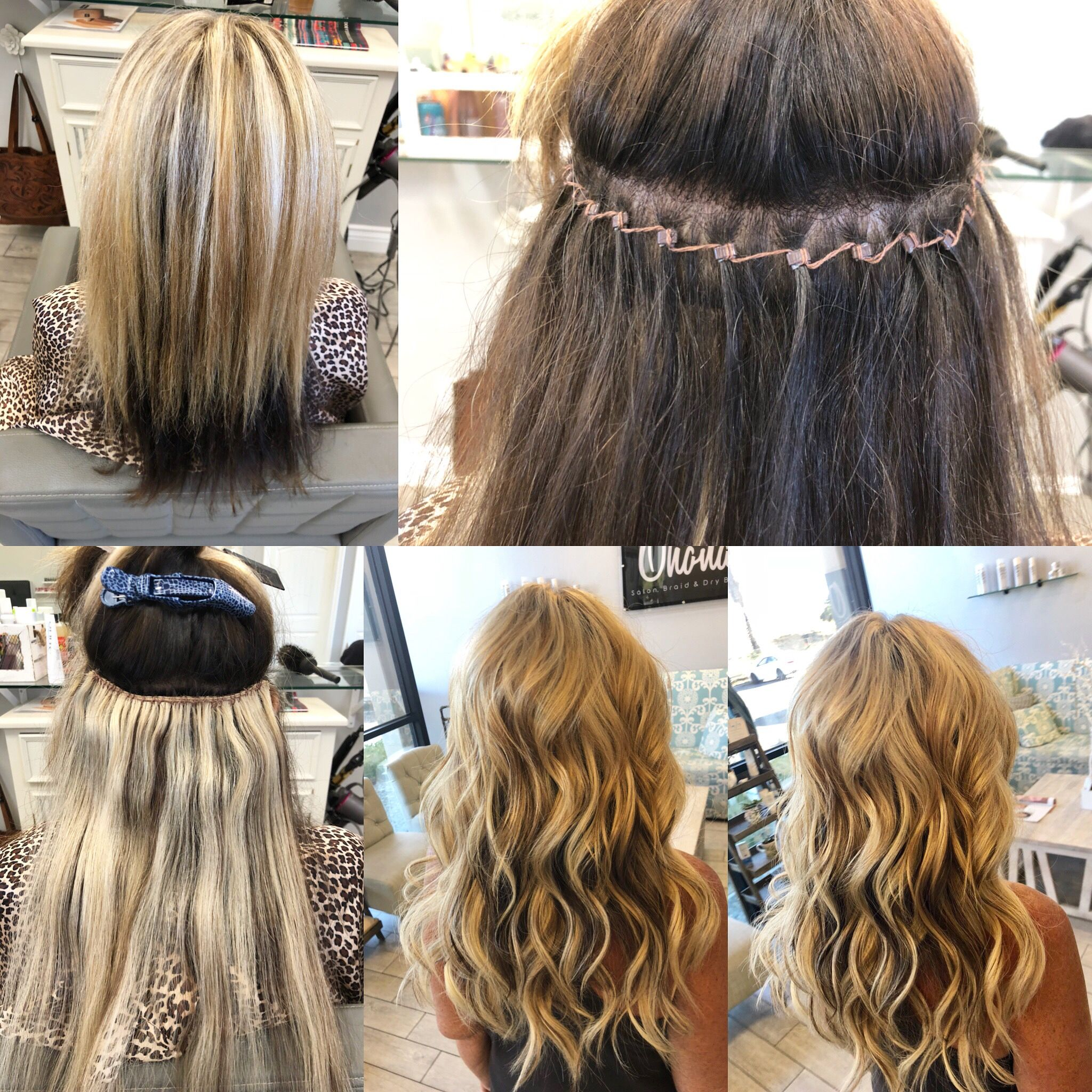 Habit Hand Tied Extensions By Jackie Soffel Beaded Hair