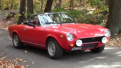 1979 Fiat Spider 2000 For Sale Fiat Spider Fiat Cars For Sale
