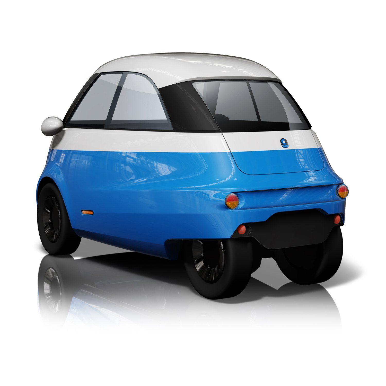 Der Microlino ist ein elektrisches Stadtauto auf der Basis von ...