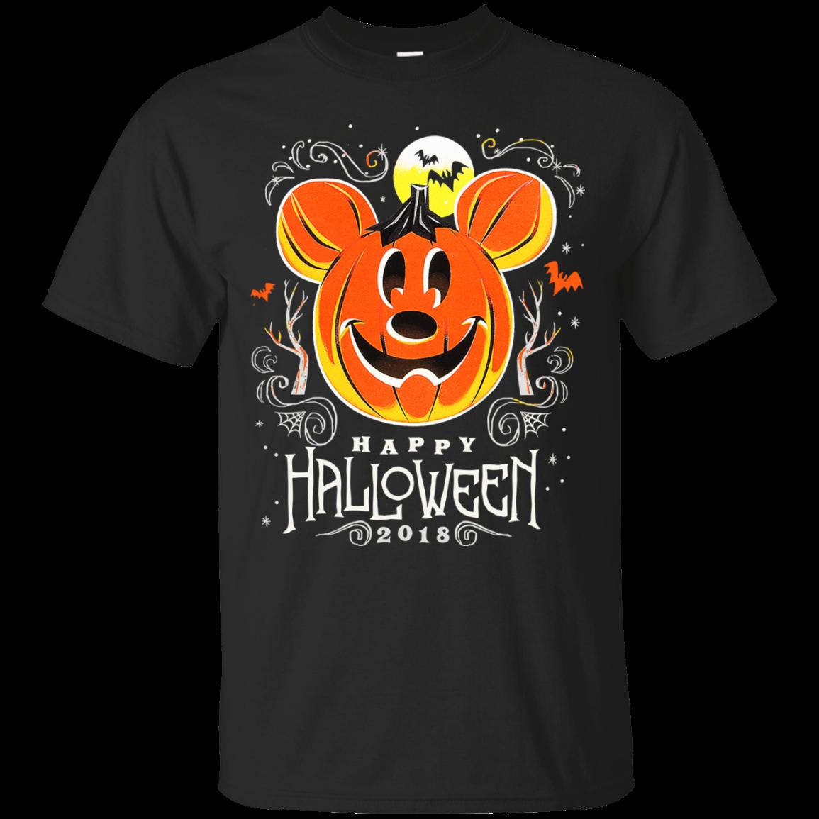 Disney Halloween 2018 XL Black Tshirt Hoodie Sweater