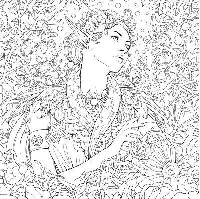 Hottest New Coloring Books: December Roundup | Adult coloring ...