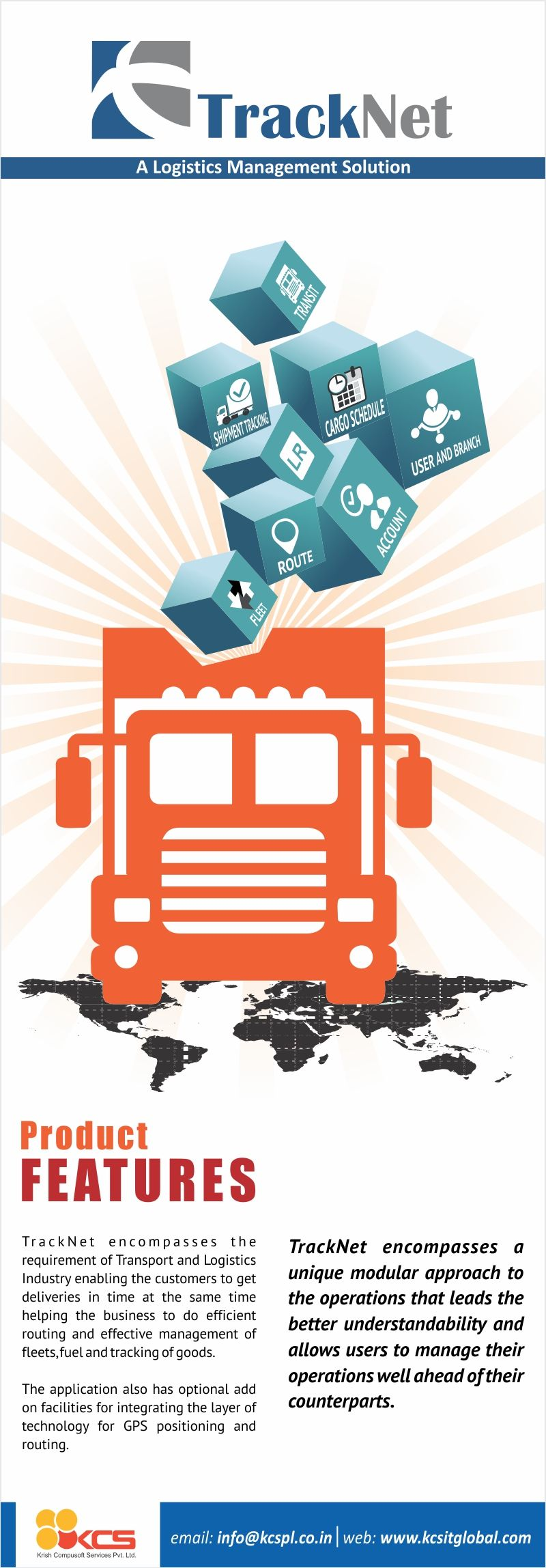 Tracknet Is Transportation Logistics And Supply Chain Management System Kcs Tracknet Is An Online Track Logistics Management Supply Chain Management Logistics
