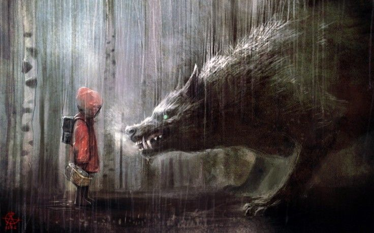 Red Riding Hood Background
