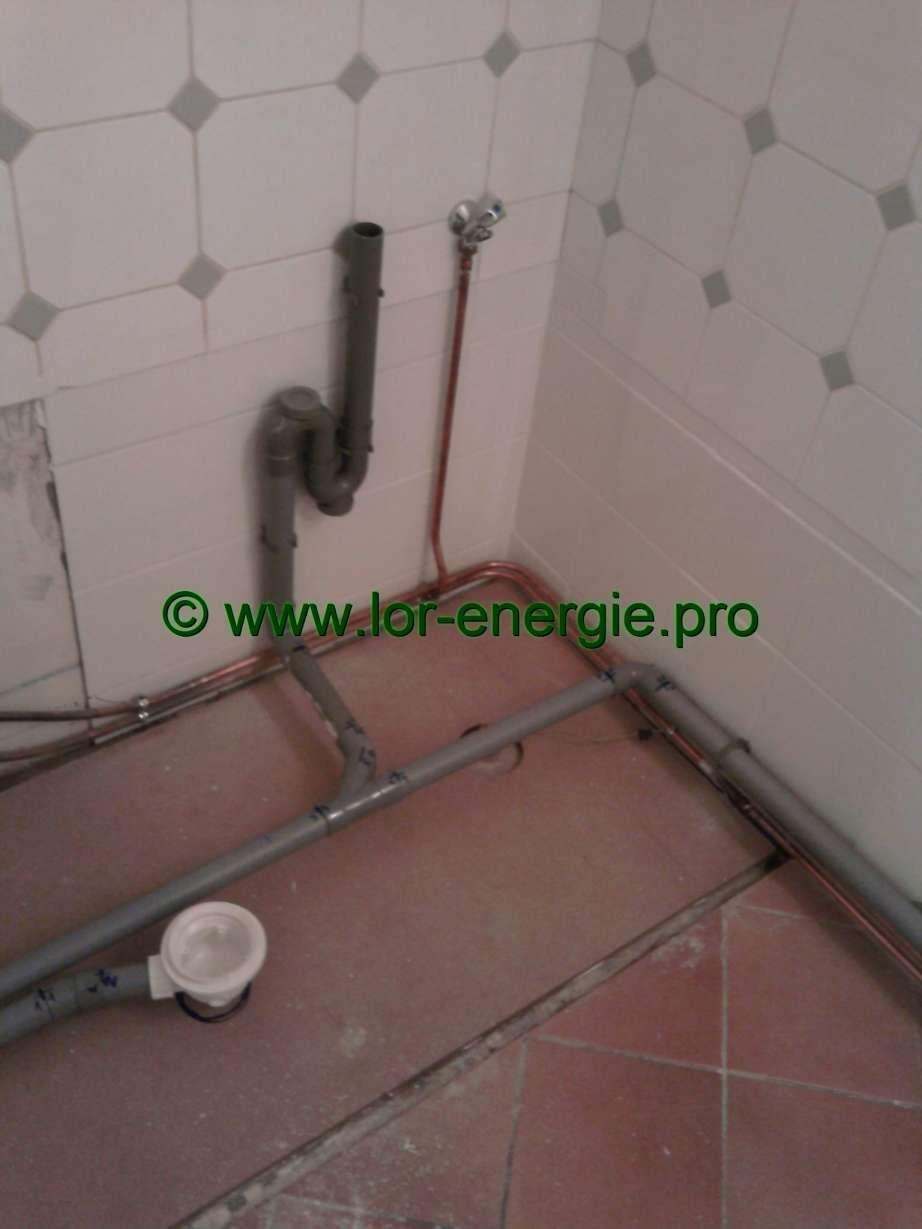 12 evacuation eau salle de bain