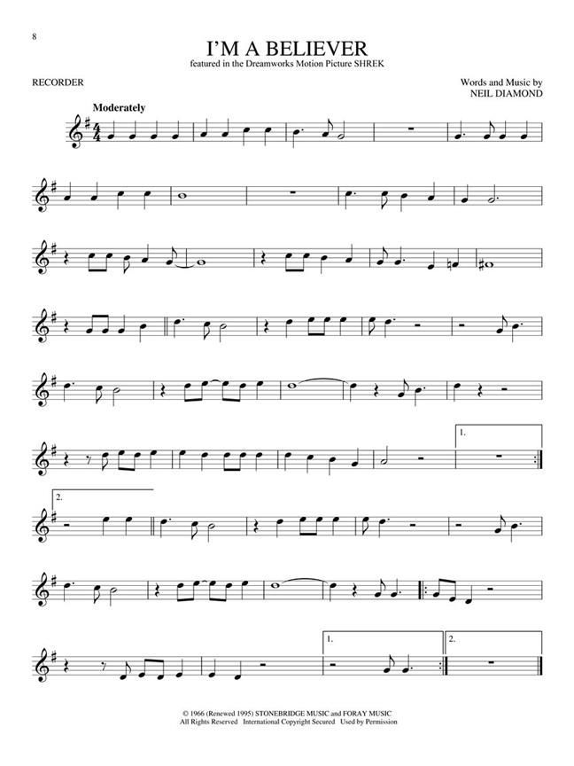 Kids Fun Songs Learn Play Recorder Pack Sheet Music Presto Classical Fun Songs Play To Learn Recorder Music