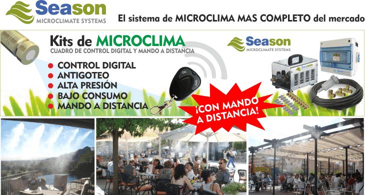 Microclima Microclimas Y Pulverizadores De Agua Para Terrazas Pulverizador De Agua Pulverizador Terrazas