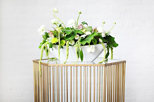#cocktail #hour #lounge #decor #wedding #event #chandelier #floral #arrangments #limes #green #gold #cocktails