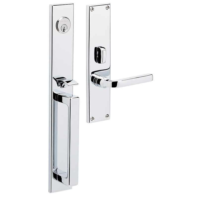 Baldwin Minneapolis Entrance Trim 6976 Double Cylinder From Waybuild Door Handles Front Door Hardware Door Hardware