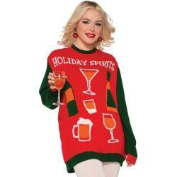 Weihnachtspullover Drinks M #chunkyknitjumper