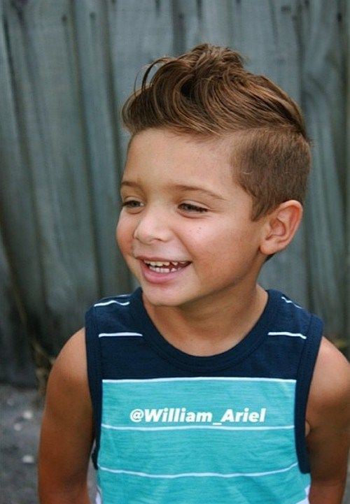 Charming Preppy Hairstyle For Little Boys More