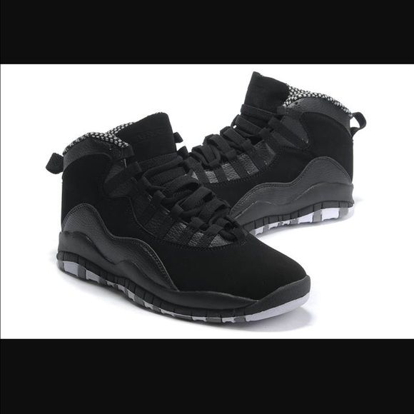 online store dee7b 282fa Jordan Shoes | Air Jordan Retro 10s | Color: Black/Gray ...